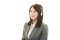 Customer services operator Royalty Free Stock Image