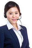 Customer services operator Stock Images