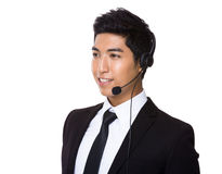 Customer services operator Royalty Free Stock Images