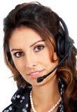 Customer services representative Royalty Free Stock Photography