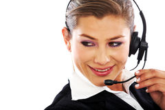 Customer services representative Royalty Free Stock Photos