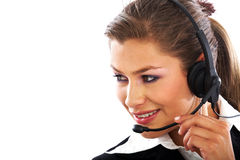 Customer services representative Stock Photos