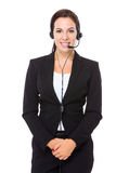 Customer services representative Royalty Free Stock Image