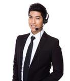 Customer services representative Royalty Free Stock Image