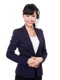 Customer services representative Stock Photos