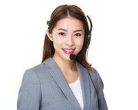 Customer services representative Stock Photography