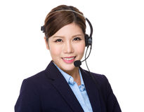 Customer services representative Royalty Free Stock Photo