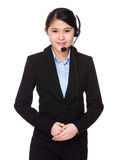 Customer services representative Royalty Free Stock Photo
