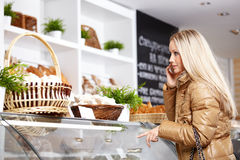 The customer in shop Royalty Free Stock Image