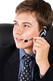 Customer srvice operator Stock Images