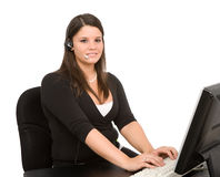 Customer Support Royalty Free Stock Photography