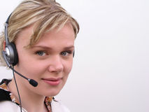 Customer Support Stock Photography