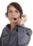 Customer support agent Royalty Free Stock Photos