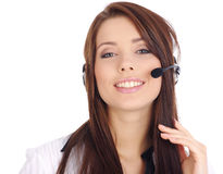 Customer support agent Stock Photos