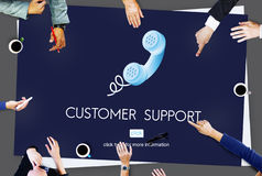 Customer Support Assistance Help Advice Client Concept Royalty Free Stock Photos