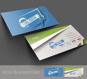 Customer Support Business Card Royalty Free Stock Photography