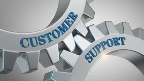 Customer support concept royalty free stock photography