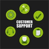 Customer support Stock Images