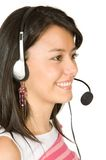 Customer Support Girl Royalty Free Stock Photo