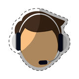 customer support Icon image Stock Photo
