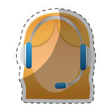 customer support Icon image Royalty Free Stock Images