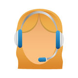 customer support Icon image Royalty Free Stock Image