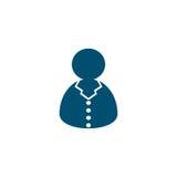 Customer support icon. Special flat callcenter operator Stock Photos