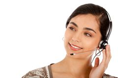 Customer support operator Royalty Free Stock Image