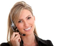 Customer support operator Stock Images