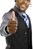 Customer support operator thumbs up Royalty Free Stock Photos