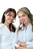 Customer support operators Stock Images