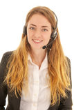 Customer support on the phone Royalty Free Stock Image
