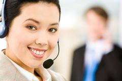 Customer Support Representative Stock Images