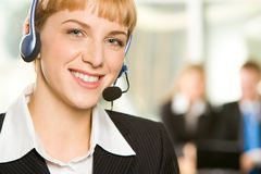 Customer Support Representative Stock Photos