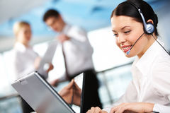 Free Customer Support Representative Stock Photography - 12619672