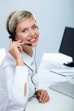 Customer support representative Royalty Free Stock Photos