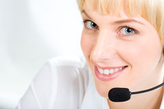 Customer Support Representative Royalty Free Stock Photo