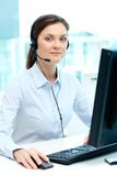 Customer support representative Royalty Free Stock Images