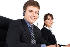 Customer Support Representatives Royalty Free Stock Images
