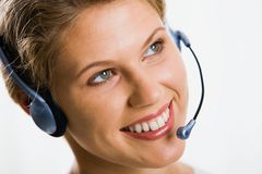 Customer support service Stock Photos