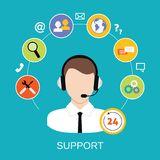 Customer Support Service Royalty Free Stock Photo