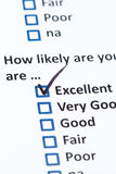 Customer Survey Royalty Free Stock Photography