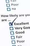 Customer Survey Royalty Free Stock Photography