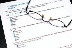 Customer Survey Royalty Free Stock Images