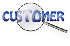 Customer survey Stock Images