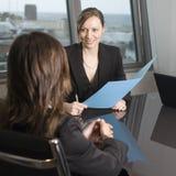 Customer talk Royalty Free Stock Photography