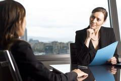 Customer talk Royalty Free Stock Image