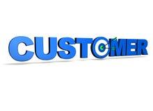 Customer Target Stock Image