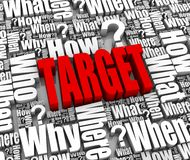 Customer Target Stock Photo