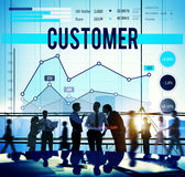 Customer Target Marketing Business Strategy Concept Royalty Free Stock Photography